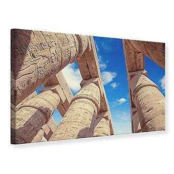 Canvas Print Temple Columns