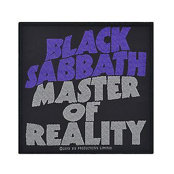 Black Sabbath Master de réalité Patch tissé