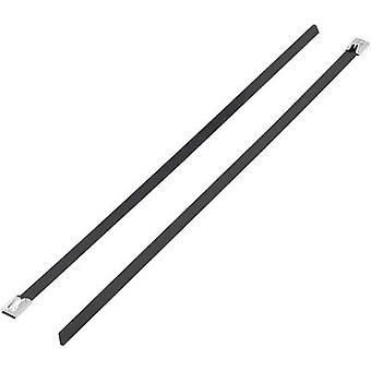 Cable tie 152 mm Black Coated KSS 1091191