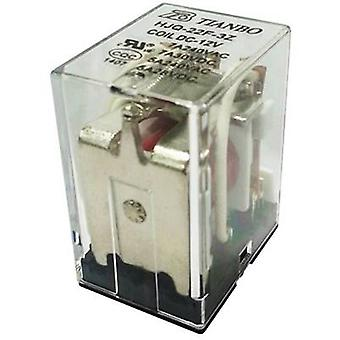 Plug-in relay 12 Vdc 7 A 3 change-overs Tianbo Electronics