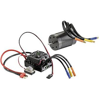 Model car brushless motor kit 1:10 Absima Thrust 3S Eco Turns: 10