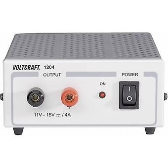 Bench PSU (fixed voltage) VOLTCRAFT FSP 1204 11 - 15 Vdc 4 A 60 W No. of outputs 1 x