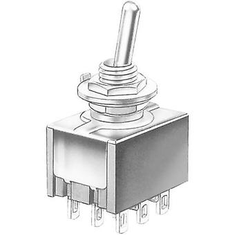 Toggle switch 30 Vdc 4 A 3 x On/On Marquardt 9040.