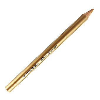 Lipliner or Eyeliner Pencil Glitter Gold
