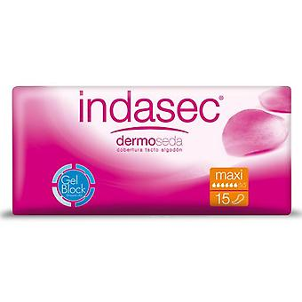 Indasec Indasec Maxi Sanitary towels for light incontinence 15 Units