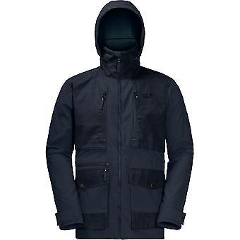 Jack Wolfskin Herre Barstow UV beskyttende letvægts hurtigt tør jakke