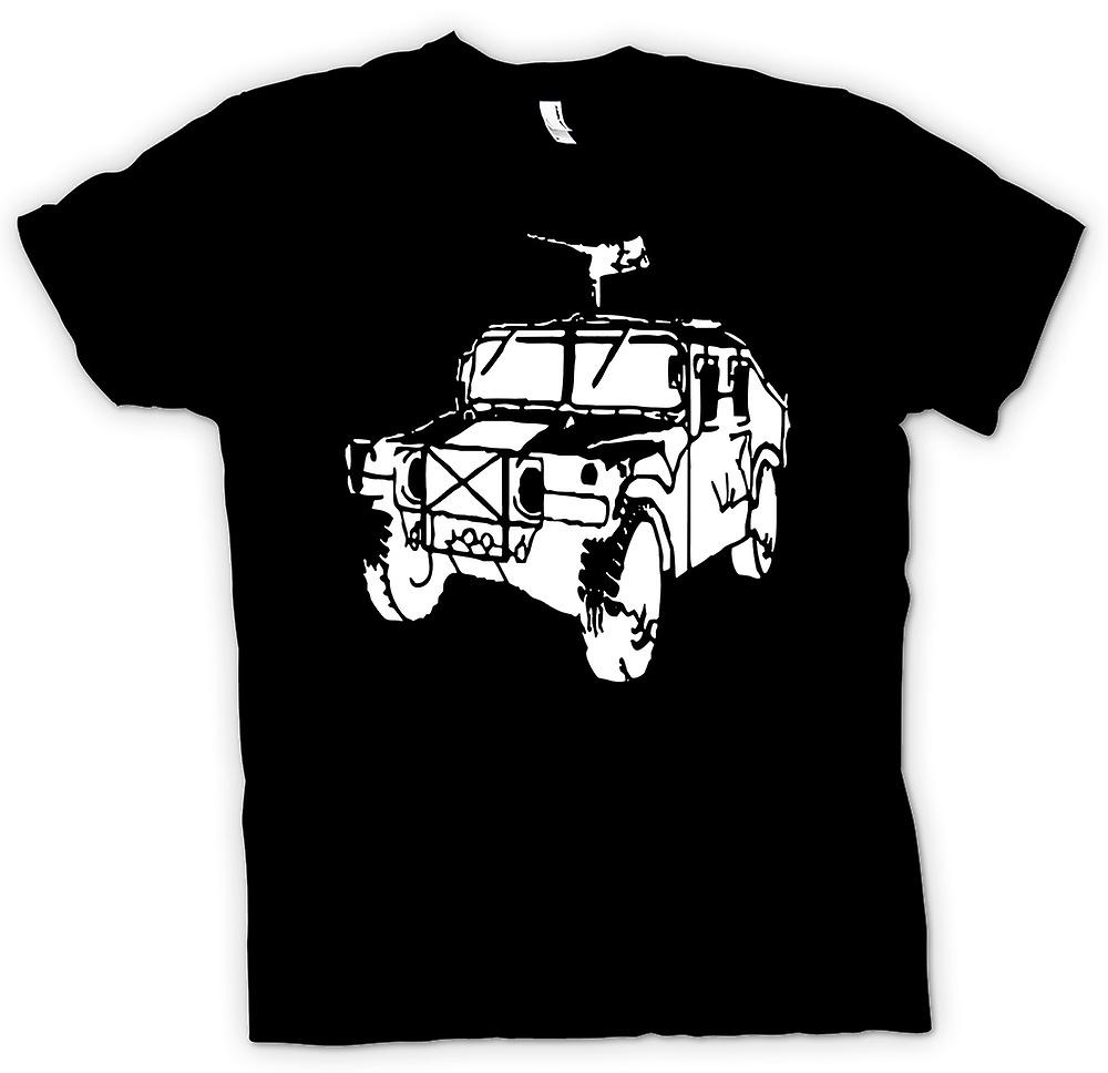 Kids T-shirt - US Army Humvee 50 Cal - Military