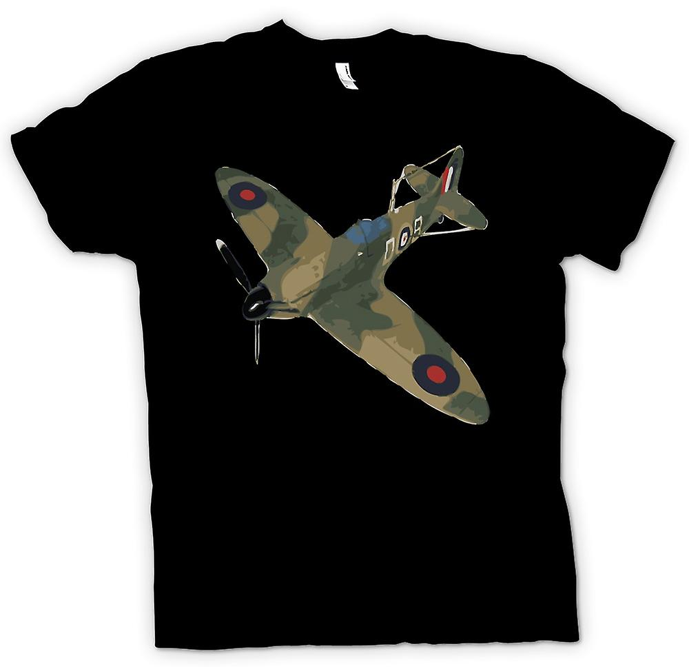 T-shirt - Spitfire Cam verde Pop Art - preventivo