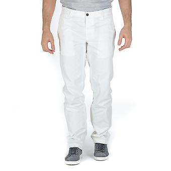 Hugo Boss Mens Pants White Schino