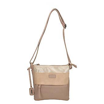 Ladies Rieker Adjustable Strap Shoulder Bag H1409-31 - Rosa Synthetic - One Size