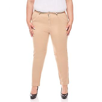 Chinohose plus size beige B.C.. best connections