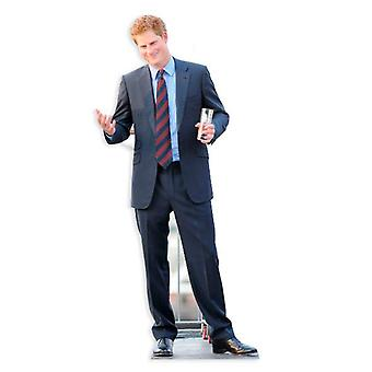 Prince Harry Cardboard Cutout