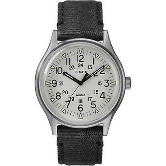 Timex mens watch MK1 steel 40 mm fabric bracelet TW2R68300