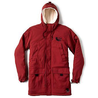 LRG Lifted Equipment Parka Jacket Maroon