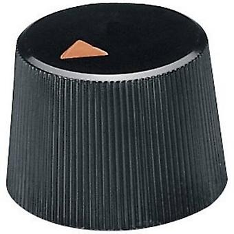 OKW A1316240 Control knob + hand Black (Ø x H) 16.4 mm x 12.3 mm 1 pc(s)