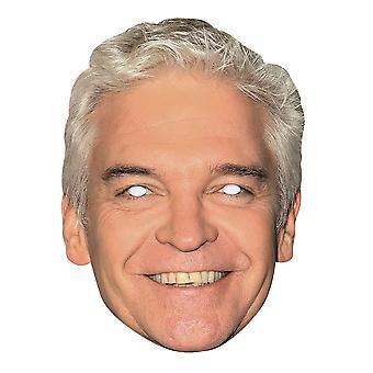Phillip Schofield 2D enkelt kort Party ansigtsmaske