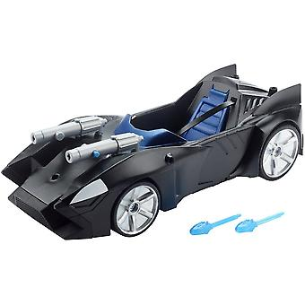 Justice League Action Twin Blast Batmobile With 2 Detachable Cannons 3+