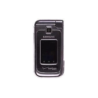 OEM-Verizon Samsung U750 Alias 2 Snap-On fall - Clear (Bulk förpackning)