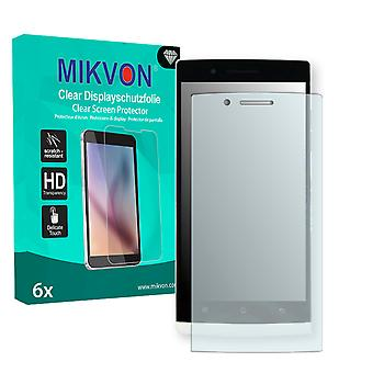 OPPO Find 5 X909 Screen Protector - Mikvon Clear (Retail Package with accessories)