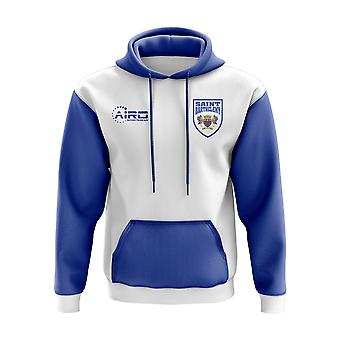 Saint Barthelemy Concept Country Football Hoody (White)