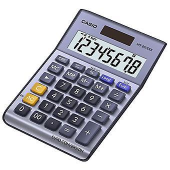 Casio MS80VER Desktop Calculator with Euro Conversion