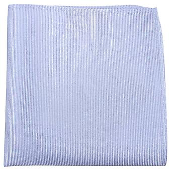 Knightsbridge Neckwear striées mouchoir de poche de soie - lilas