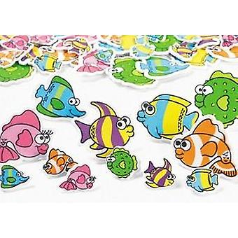 500 Tropical Fish Foam Stickers for Kids Crafts   Under the Sea Crafts