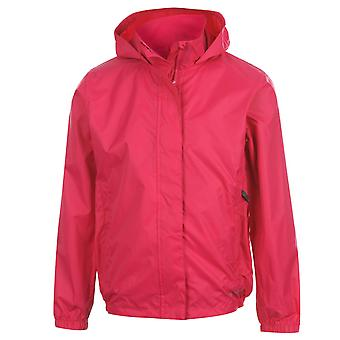 Gelert Kids Childrens Infants Girls Packaway Waterproof Jacket Gl00 Outwear Hood