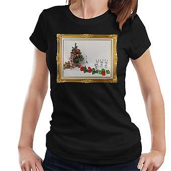 Ursprungliga Stormtrooper julgran Death Slide Women's T-Shirt
