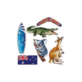 Australian Themed Cardboard Cutout Decorations