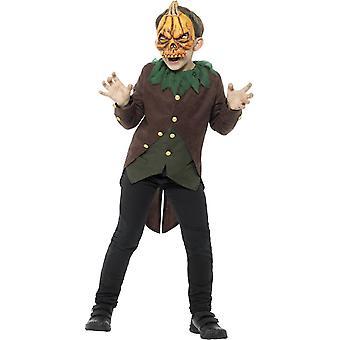 Goosebumps Jack-O'-Lantern Costume, Large Age 10-12