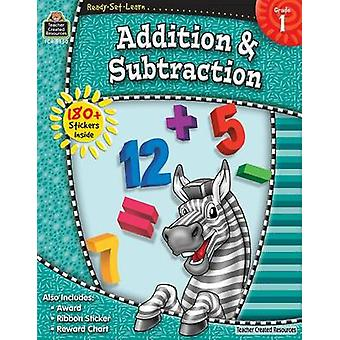 Addition & Subtraction - Grade 1 by Teacher Created Resources - 97814