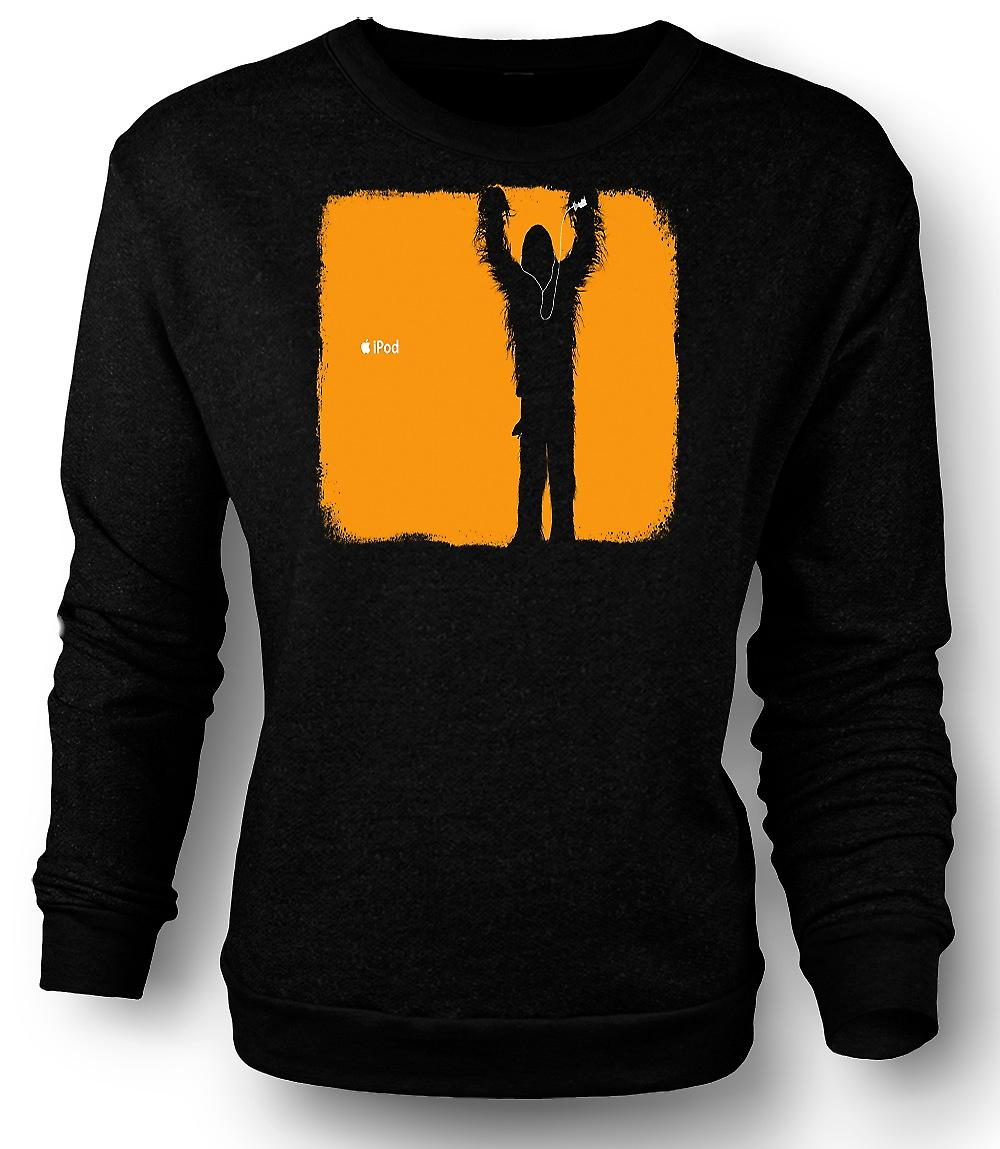 Mens Sweatshirt StarWars - Chewbacca-iPod