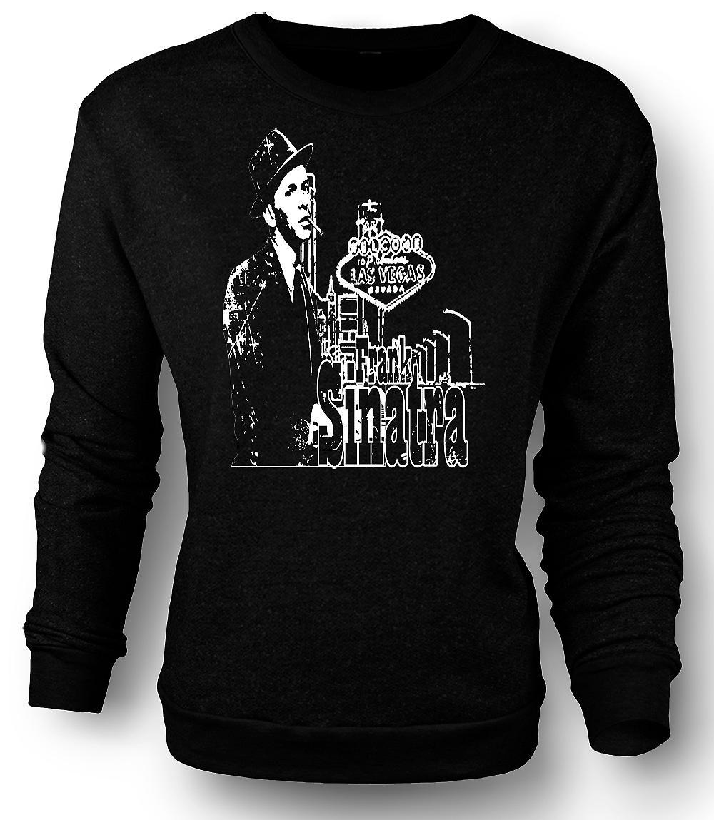 Mens Sweatshirt Frank Sinatra Vegas - Swing - ikonen