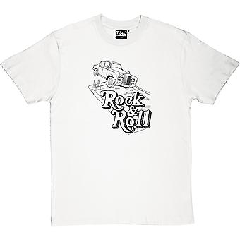 T-shirt Rock And Roll Rolls Royce uomo