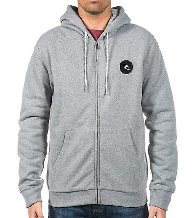 Zinc Half Zip Zipped Hoody