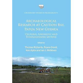 Recherches archéologiques dans la baie de prudence - Papouasie-Nouvelle-Guinée - culturel-