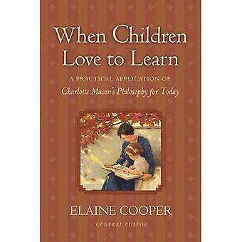 Quando as crianças gostam de aprender: uma aplicação prática da filosofia do Charlotte Mason para hoje