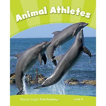 Nivå 4 - djur idrottare CLIL av Caroline Laidlaw - 9781408288382 bok