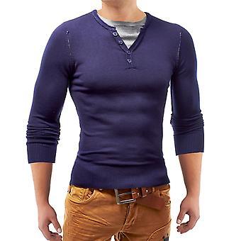 Men's Pullover Sweater longsleeve shirt Slim V Neck Straightiator