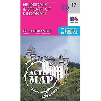 Helmsdale & Strath of Kildonan (OS Landranger Map)