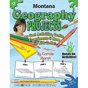 Montana Geography Projects - 30 Cool Activities, Crafts, Experiments & More for