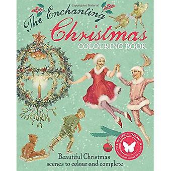 Die zauberhafte Weihnachten Färbung Buch