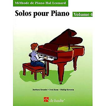 Piano Solos Book 4 - French Edition: Hal Leonard� Student Piano Library