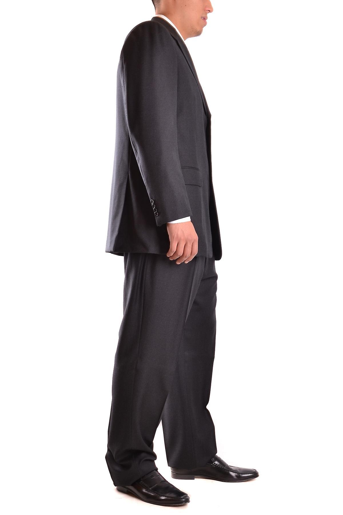 بدلة رمادية صوف بربري
