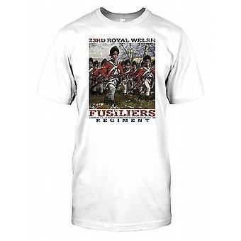 23 royal Walisisk Fusiliers Regiment Herre T-shirt