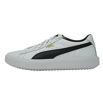 0d6146cfd4438 Puma BREAKER LEATHER 366078 02 Trainers