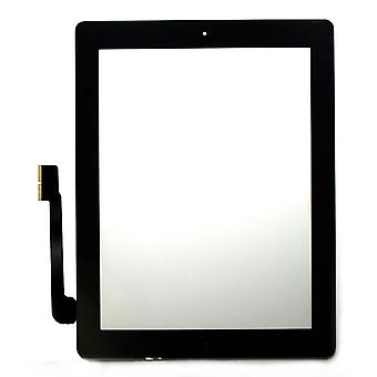 Apple iPad 3 negro Compatible digitalizador Touch pantalla