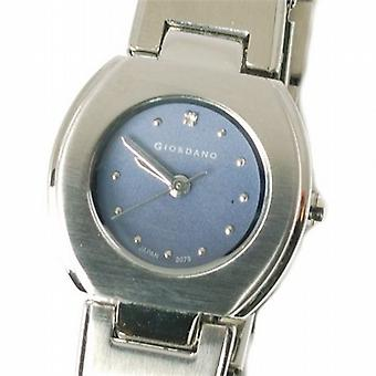 Giordano Silver Tone Bracelet Strap Ladies Dress Watch 2073-3