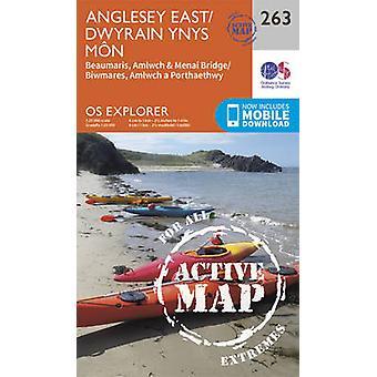 Anglesey East (September 2015 ed) by Ordnance Survey - 9780319471357
